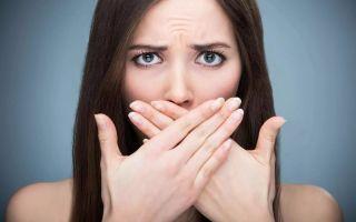 Могут ли паразиты вызывать плохой запах изо рта